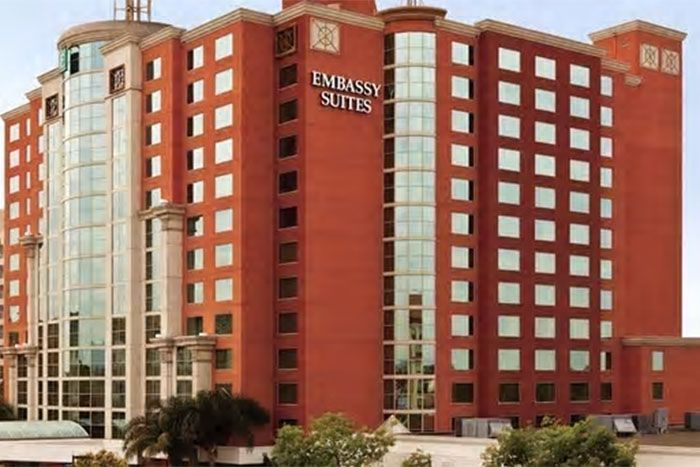 Embassy Suites Hilton Anaheim South main exterior