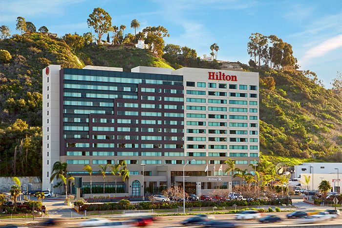Hilton San Diego Mission Valley main exterior